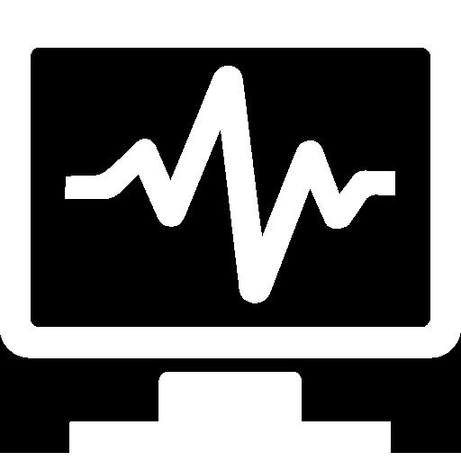 Icon-Status monitoring-white
